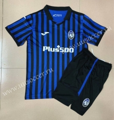 2020-2021 Atalanta BC Home Blue Soccer Uniform-AY