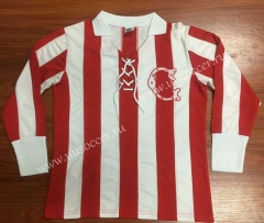 100th Retro Version Deportivo Guadalajara Home Red & White LS Thailand Soccer Jersey AAA-912