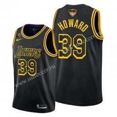 2020 Final edition Lakers NBA Black #39 With Final Logo Jersey