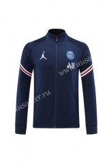 2020-2021 Jordan Paris SG Royal Blue Traning Soccer Jacket -LH