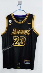 Snake skin Version NBA Lakers Black #23 Jersey