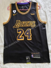 Snake skin Version NBA Lakers Black #24 Jersey