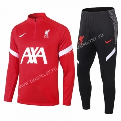 2020-2021 Liverpool Red Thailand Soccer Tracksuit Uniform-411