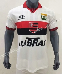 100th Commemorative Edition CR Flamengo Away White Thailand Soccer Jersey AAA-416