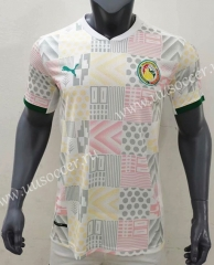 2020-2021 Senegal Home White Thailand Soccer Jersey AAA-416