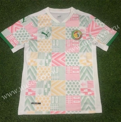 2020-2021 Senegal Away White Thailand Soccer Jersey AAA-503