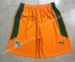 2020-2021 Côte d'Ivoire Orange Thailand Soccer Short