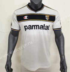 02-03 Retro Version Parma Calcio 1913 Away Black & White Thailand Soccer Jersey AAA-416