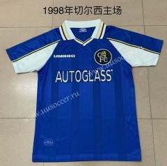 1998 Retro Version Chelsea Blue Thailand Soccer Jersey AAA-AY