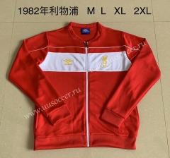 1982 Retro Version Livepoor Red Soccer Jacket-AY