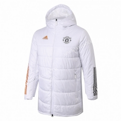 2020-2021 Manchester United White Cotton With Hat Uniform-815