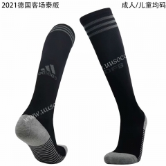 2020-2021 Germany Away Black Soccer Socks