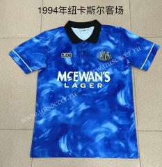 1994 Retro Version Newcastle United Away Blue Thailand Soccer Jersey AAA-709