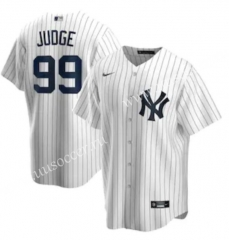 MLB New York Yankees White #99 Jersey