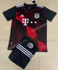 2020-2021 Bayern München 2nd Away Black Soccer Uniform