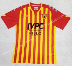 2020-2021 Benevento Calcio Home Red & Yellow Thailand Soccer Jersey AAA-709