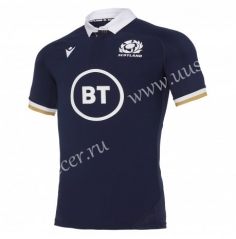 2020-2021 Scotland Home Purple Rugby Jersey