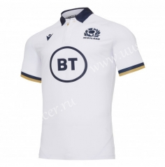 2020-2021 Scotland Away White Rugby Jersey