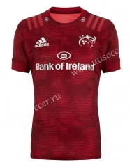 2020-2021 Munster Home Red Rugby Shirts