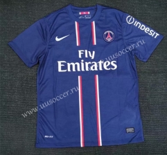 12-13 Retro Version  Paris SG Home Blue Thailand Soccer Jersey AAA-416