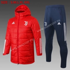 2020-2021 Juventus Red Cotton Uniform With Hat Uniform-815