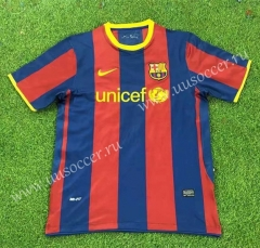 10-11 Retro Version Barcelona Red & Blue Thailand Soccer Jersey AAA-503