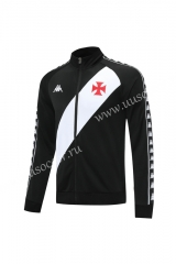 2020-2021 CR Vasco da Gama Black Soccer Jacket-LH