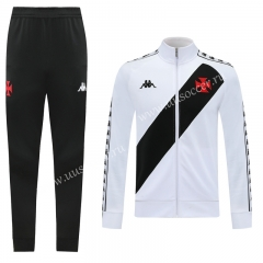 2020-2021 CR Vasco da Gama White Soccer Jacket Uniform-LH