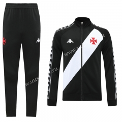 2020-2021 CR Vasco da Gama Black Soccer Jacket Uniform-LH