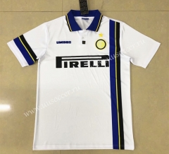 97-98 Retro Version Special Version Inter Milan Away White Thailand Soccer Jersey AAA-HR
