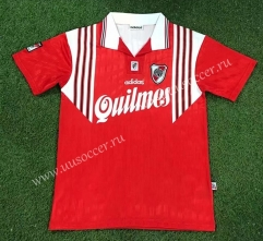 95-96 Retro Version CA River Plate Red Thailand Soccer Jersey AAA-503