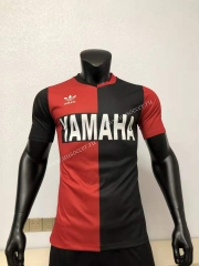 Player Version 93-94 Retro Version Maradona Red & Black Thailand Soccer Jersey AAA