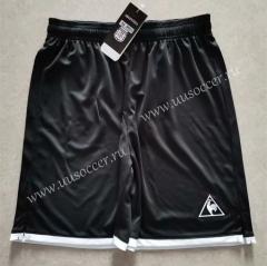 1986 Retro Version Argentina Black Thailand Soccer Shorts