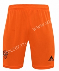 2020-2021 Arsenal Goalkeeper Orange Thailand Soccer Shorts-418
