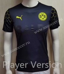 Player Joint Edition 2020-2021 Borussia Dortmund  Black Thailand Soccer Jersey AAA-807