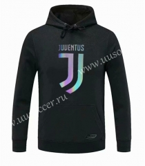 2020-2021 Juventus Black Thailand Tracksuit Top With Hat-CS
