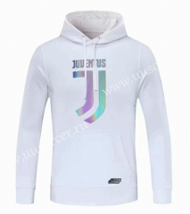 2020-2021 Juventus White Thailand Tracksuit Top With Hat-CS