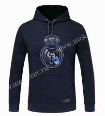 2020-2021 Real Madrid Royal Blue Thailand Tracksuit Top With Hat-CS