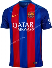 2016-2017 Retro Version Barcelona Home Red & Blue Thailand Soccer Jersey AAA