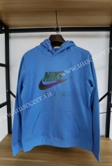 2020-2021 Nik Blue Thailand Soccer Tracksuit With Hat-13
