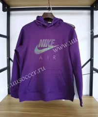 2020-2021 Nik Purple Thailand Soccer Tracksuit With Hat-09