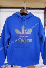 2020-2021 Addi Blue Thailand Soccer Tracksuit With Hat-04