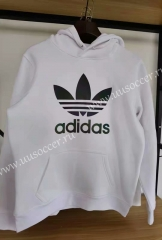 2020-2021  Addi White Thailand Soccer Tracksuit With Hat-01