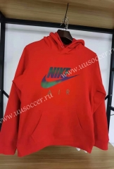 2020-2021 Nik Red Thailand Soccer Tracksuit With Hat-15