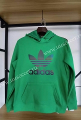 2020-2021 Addia Green Thailand Soccer Tracksuit With Hat-10