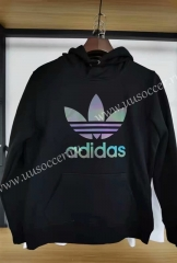 2020-2021 Addi Black Thailand Soccer Tracksuit With Hat-06