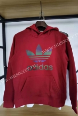 2020-2021 Addi Red Thailand Soccer Tracksuit With Hat-05