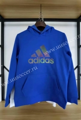 2020-2021 Addi Blue Thailand Soccer Tracksuit With Hat-11