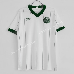 1984-1986 Retro Version Celtic Away White Thailand Soccer Jersey AAA-C1046