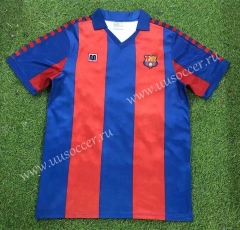 82-84 Retro Version Barcelona Home Red & Blue Thailand Soccer Jersey AAA-503
